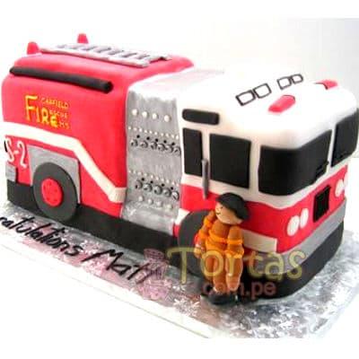 Grameco.com - Regalos a PeruTorta bombero 11