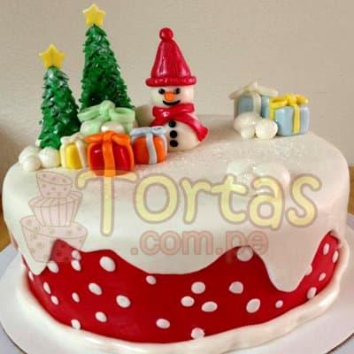 Torta de hombre nieve12