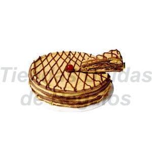 Torta Rapida 05 - Codigo:TNR05 - Detalles: 6 capas de galleta de chocolate rellenas con crema de l�cuma y fudge casero Diametro: 26cm - - Para mayores informes llamenos al Telf: 225-5120 o 4760-753.