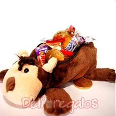 Deliregalos.com - Cofre de Chocolates - Codigo:CHF01 - Detalles: Exclusiva bolsita de regalo  con Bombones. Contiene 12 mini-sublimes/princesas bombones para endulzar a esa persona tan  especial.  - - Para mayores informes llamenos al Telf: 225-5120 o 476-0753.