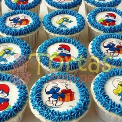 Grameco.com - Regalos a PeruFoto-Muffins Pitufos