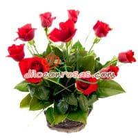 Arreglo en Base a 10 Rosas Importadas