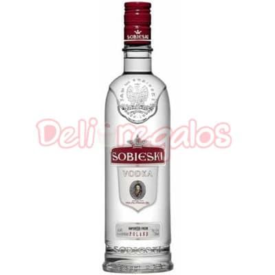 Deliregalos.com - Volka Sobieski - Codigo:VOD06 - Detalles: Vodka importado especial en presentacion de 750ml. Incluye tarjeta de dedicatoria - - Para mayores informes llamenos al Telf: 225-5120 o 476-0753.