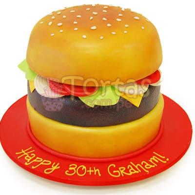 Tortas   Torta en forma de Sandwich - Cod:WAS12