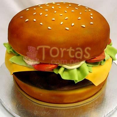 Torta Sandwich   Torta con forma de Sandwich  - Cod:WAS18