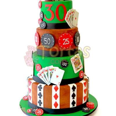 Torta Pocker   Torta Pocker Casino - Cod:WAS28