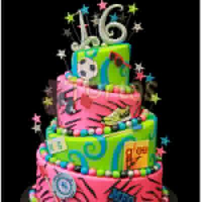 Torta Animal Print   Animal Print Cake - Cod:WAS32