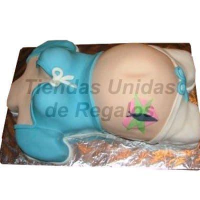 I-quiero.com - Torta Mam� Embarazada 06 - Codigo:WBS06 - Detalles: Deliciosa Torta hecho a base de queque De Vainilla,   y , finamente decorado  a base de masa el�stica. MED. 20 x 30 Cmt, Rinde aprox. para  20 porciones. - - Para mayores informes llamenos al Telf: 225-5120 o 476-0753.