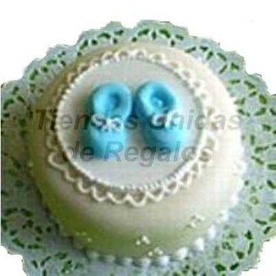 I-quiero.com - Torta Baby Shower 08 - Codigo:WBS08 - Detalles: Deliciosa torta hecho  a base de queque De Vainilla,   y  finamente decorado y modelado  a  base de masa el�stica, Med  20mt, Rinde aprox. Para 20porciones. Incluye zapatitos en azucar. - - Para mayores informes llamenos al Telf: 225-5120 o 476-0753.