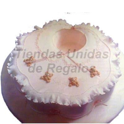 I-quiero.com - Torta Baby Shower 09 - Codigo:WBS09 - Detalles: Deliciosa torta hecho  a base de queque De Vainilla,   y finamente decorado y modelado  a  base de masa el�stica, Med  20Cmt, Rinde aprox. Para 20 porciones. - - Para mayores informes llamenos al Telf: 225-5120 o 476-0753.