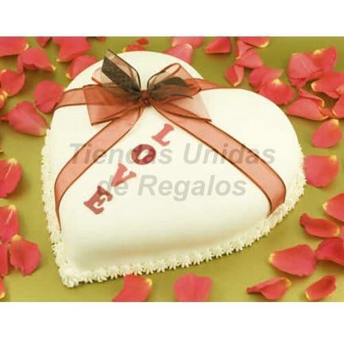 Lafrutita.com - Torta Corazon 02 - Codigo:WCO02 - Detalles: Deliciosa torta hecho a base de queque De Vainilla,    y manjar.  Med. 23 Cmt de diametro, rinde aprox. para 12 porciones.   Las tortas de esta categor�a deber�n solicitarse y cancelarse con un m�nimo de 5 d�as �tiles. Tortas.com.pe puede prepara para Ud. la torta en menor tiempo, pero deber� coordinarse previamente a nuestra central telef�nica.  La base esta considerada en tecnopor forrado con papel aluminio, las fotos de las bases son solo referenciales, si el cliente desea otro tipo de base como por ejm: masa el�stica, con blondas o de otro material deber� solicitarlo previamente a nuestro call center al 225-5120 o 403-5246.  - - Para mayores informes llamenos al Telf: 225-5120 o 476-0753.