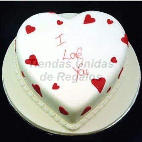 Lafrutita.com - Torta Corazon 05 - Codigo:WCO05 - Detalles: Deliciosa torta hecho a base de queque De Vainilla,   s manjar. Med. 23 Cmt de diametro, rinde aprox para 12 porciones.  Las tortas de esta categor�a deber�n solicitarse y cancelarse con un m�nimo de 5 d�as �tiles. Tortas.com.pe puede prepara para Ud. la torta en menor tiempo, pero deber� coordinarse previamente a nuestra central telef�nica.  La base esta considerada en tecnopor forrado con papel aluminio, las fotos de las bases son solo referenciales, si el cliente desea otro tipo de base como por ejm: masa el�stica, con blondas o de otro material deber� solicitarlo previamente a nuestro call center al 225-5120 o 403-5246.  - - Para mayores informes llamenos al Telf: 225-5120 o 476-0753.
