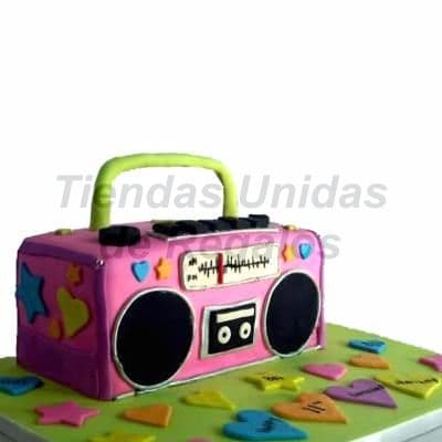 Torta Radio Vintage