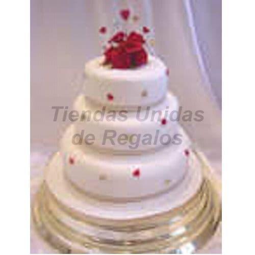 Torta Matrimonio 30 - Codigo:WMA30 - Detalles: Delicioso queque ingles relleno de frutas secas, pasas decorada finamente en masa elástica, MED. 1er Nivel 35Cmt, 2do Nivel 25Cmt, 3er Nivel 15Cmt de diámetro. Este producto se realiza con 7 días de anticipación, cualquier modificación que desee realizar es previa coordinación con la central.  - - Para mayores informes llamenos al Telf: 225-5120 o 4760-753.