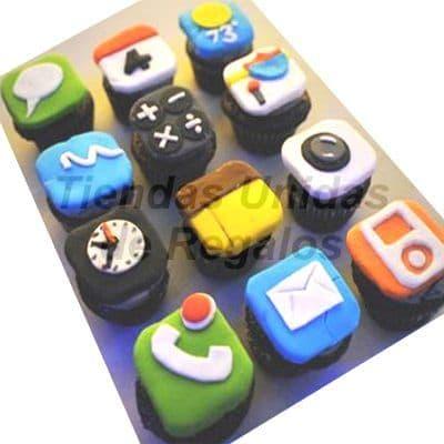 Tortas.com.pe - Muffin Art�stico 03 - Codigo:WMF03 - Detalles: 12 Muffins finamente decorados con im�genes Ipod. Este producto se entregara 24 horas despu�s de realizar el pedido. - - Para mayores informes llamenos al Telf: 225-5120 o 476-0753.