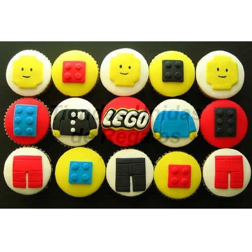 Tortas.com.pe - Muffins Art�sticos Lego - Codigo:WMF37 - Detalles: Lindos Muffins art�sticos  15 unidades, . Tiendas Unidas de Regalos atiende pedidos urgentes previamente coordinados con nuestro call center. - - Para mayores informes llamenos al Telf: 225-5120 o 476-0753.