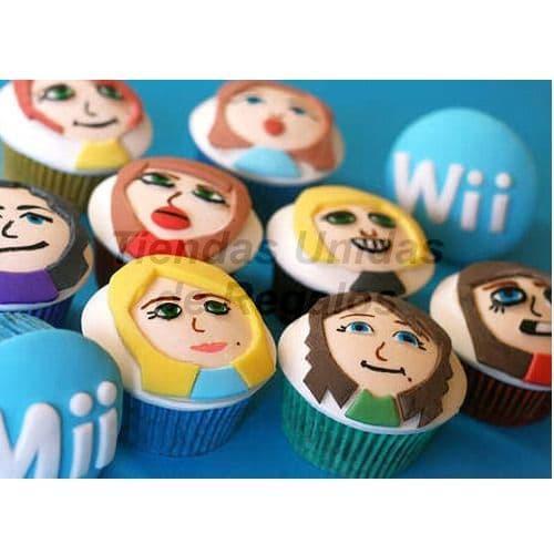 Tortas.com.pe - Muffins Art�sticos Wii - Codigo:WMF40 - Detalles: Lindos Muffins art�sticos con tema Wii x 10 unidades. Tiendas Unidas de Regalos atiende pedidos urgentes previamente coordinados con nuestro call center. - - Para mayores informes llamenos al Telf: 225-5120 o 476-0753.