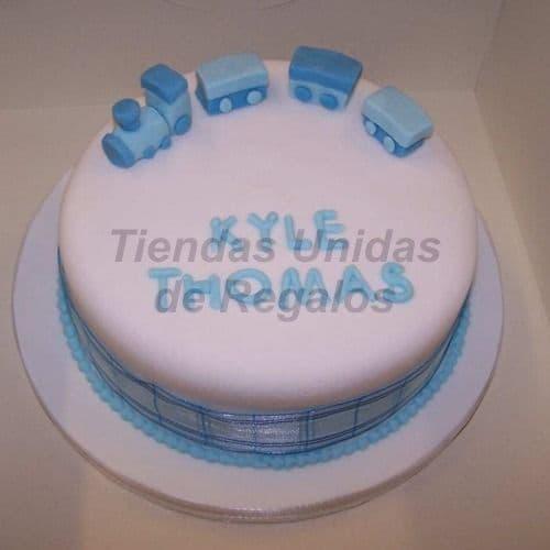 Torta Bebe 07 - Codigo:WNA07 - Detalles: Torta a base de keke ingles con medida de 25 cm. de diámetro. incluye botitas en azúcar. Todo el decorado esta hecho a base de masa elástica. Si incluye Nombre en azucar de hasta 7 letras. - - Para mayores informes llamenos al Telf: 225-5120 o 4760-753.
