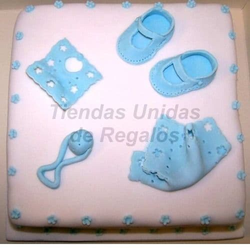 Lafrutita.com - Torta Bebe 08 - Codigo:WNA08 - Detalles: Torta a base de keke De Vainilla con medida de 35 cm.x 35cm,Todo el decorado esta hecho a base de masa el�stica.  - - Para mayores informes llamenos al Telf: 225-5120 o 476-0753.