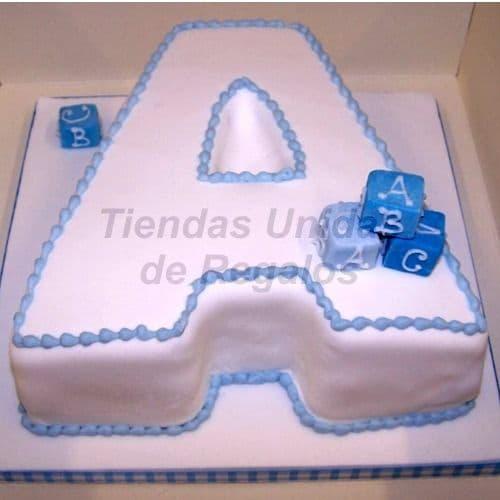 Torta en Forma de Letra 10 - Codigo:WNA10 - Detalles: Torta a base de keke ingles con la letra A de medida de 20 x 30cm. Todo el decorado esta hecho a base de masa elástica. Incluye cubos de azucar. - - Para mayores informes llamenos al Telf: 225-5120 o 4760-753.