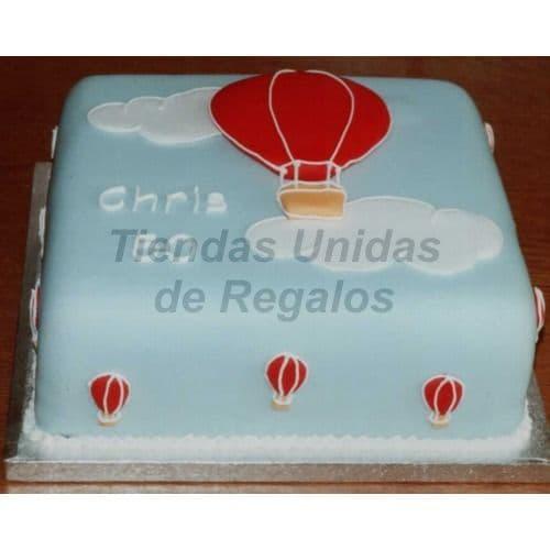 Lafrutita.com - Torta Bebe 14 - Codigo:WNA14 - Detalles: Torta a base de keke De Vainilla con medida de 25 x 25 cm., incluye gotitas en az�car. Todo el decorado esta hecho a base de masa el�stica. - - Para mayores informes llamenos al Telf: 225-5120 o 476-0753.