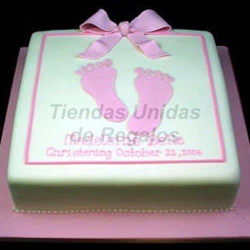 Lafrutita.com - Torta Bebe 17 - Codigo:WNA17 - Detalles: Torta a base de keke De Vainilla con medida de 25 x 25 cm.,Todo el decorado esta hecho a base de masa el�stica. - - Para mayores informes llamenos al Telf: 225-5120 o 476-0753.