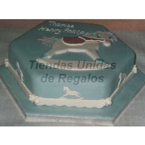 Torta Bebe 18 - Codigo:WNA18 - Detalles: Torta a base de keke ingles con medida de 25 x 25 cm.. Todo el decorado esta hecho a base de masa elástica. Rinde 16 porciones. - - Para mayores informes llamenos al Telf: 225-5120 o 4760-753.