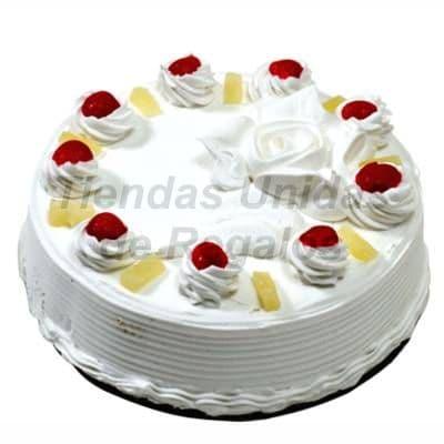 Lafrutita.com - Torta Chantilly 01 - Codigo:WPS01 - Detalles: Deliciosa Torta con crema chantilly, finamente decorado con fresas. 23cm de di�metro. - - Para mayores informes llamenos al Telf: 225-5120 o 476-0753.