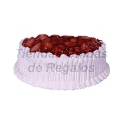 Lafrutita.com - Torta cubierta con fresas. - Codigo:WPS06 - Detalles: Deliciosa torta de  Chantilly con relleno de manjar blanco. 24cm de di�metro.   - - Para mayores informes llamenos al Telf: 225-5120 o 476-0753.
