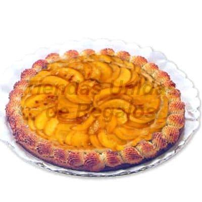 Lafrutita.com - Tartaleta 01 - Codigo:WTL01 - Detalles: Deliciosa tartaleta de Durazno. Rinde de 20 a 25 porciones. 20cm de Di�metro. - - Para mayores informes llamenos al Telf: 225-5120 o 476-0753.