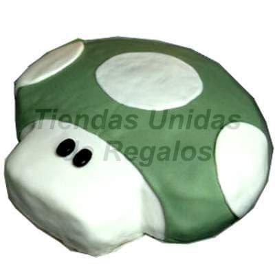 Diloconrosas.com - Torta Honguito - Codigo:TRR14 - Detalles: Delicioso queque De Vainilla relleno fruta confitada, el decorado es a base de masa el�stica. La torta tiene el modelo de honguito, . Medidas: 20cm de diametro. - - Para mayores informes llamenos al Telf: 225-5120 o 476-0753.