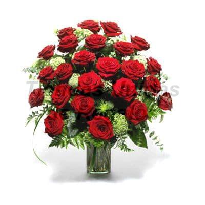 Florero 12 - Codigo:XFR12 - Detalles: Elegante florero de 24 rosas rojas importadas, incluye tarjeta de dedicatoria. Este pedido se realiza con 24 horas de anticipaci�n. - - Para mayores informes llamenos al Telf: 225-5120 o 4760-753.
